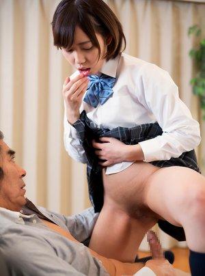 Asian Teen and Oldman Pics