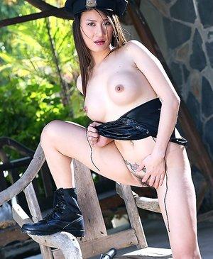 Asian Police Porn Pics