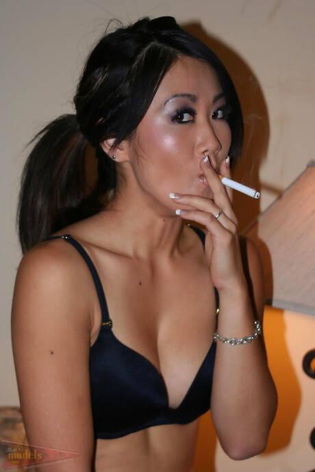 Smoking Asian Pics